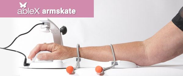 ableX armskate system for arm and hand rehabilitation